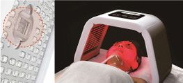 NEW!! Combination of LED Light Therapy and IPL Lamp in One - 4 Colours of Light
